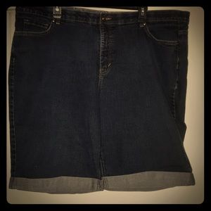 Fave pair of jean shorts Faded Glory sz 26w